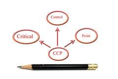Diagrama do Ccp Foto de Stock