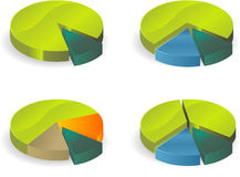 Diagrama do círculo Foto de Stock Royalty Free