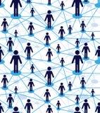 Diagrama dos povos da equipe do negócio Imagens de Stock Royalty Free