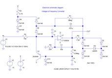 Diagrama shematic elétrico Imagens de Stock Royalty Free