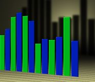 Diagramas Imagem de Stock Royalty Free