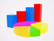 diagramas Foto de Stock Royalty Free