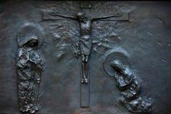 Diagramet av Kristus och kvinnor Arkivfoto