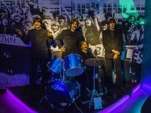 Diagramet för Beatles gruppvax Royaltyfri Bild