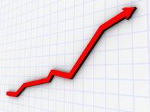 Diagramm 1 Stockfoto