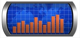 Diagramm der Entwicklung Lizenzfreie Stockfotografie