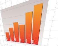 Diagramma 02 Fotografia Stock Libera da Diritti