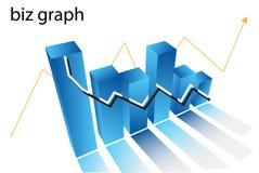 Diagramma Fotografie Stock