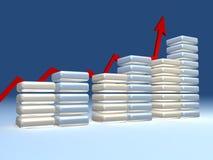 diagramma 3d Fotografia Stock