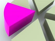 Diagramma. Fotografia Stock