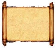 Diagramma antico 1910 del mare della pergamena del rotolo fotografie stock libere da diritti
