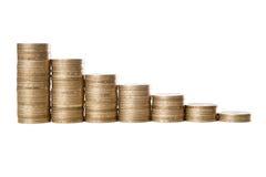 Diagramma dei soldi Immagine Stock