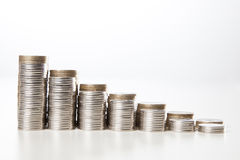 Diagramma dei soldi Fotografia Stock