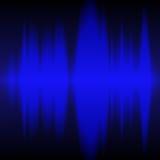 Diagramma dell'onda di frequenza Fotografie Stock