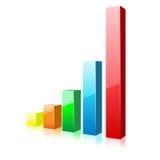 Diagramma di affari Immagine Stock