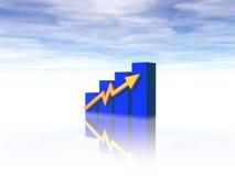 Diagramma di affari Immagini Stock