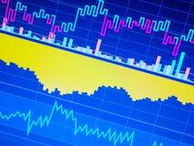 Diagramma di analisi commerciale Grafico di dati del fondo di finanza illustrazione vettoriale