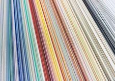 Diagramma di colore Immagini Stock Libere da Diritti