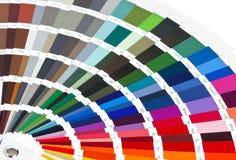 Diagramma di colore Fotografia Stock