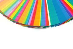 Diagramma di colori Immagini Stock