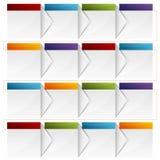 Diagramma di flusso della scatola Immagini Stock