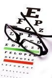 Diagramma di occhio Fotografie Stock