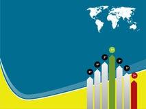 Diagramma di sviluppo e di tecnologia illustrazione vettoriale