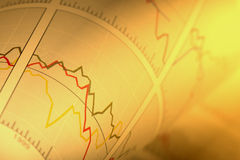 Diagramma finanziario Immagini Stock Libere da Diritti