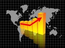 Diagramma moderno immagine stock libera da diritti