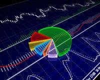 Diagramma, schema Fotografia Stock Libera da Diritti