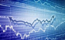 Diagrammabbildung Stockfotografie