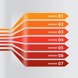Diagrammall för infographics Arkivbilder