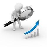 Diagrammanalyse Lizenzfreies Stockfoto