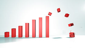 Diagrammdiagramm Lizenzfreies Stockfoto