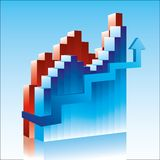 Diagramme Photo libre de droits