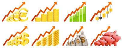 Diagramme Lizenzfreie Stockfotografie