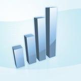 Diagramme Stockfoto