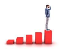 The diagramme Stock Photos