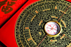Diagramme chinois d'horoscope Images stock
