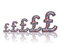 Diagramme d'argent Image libre de droits