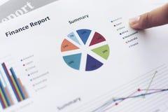 Diagramme de l'information de graphique de gestion Photographie stock