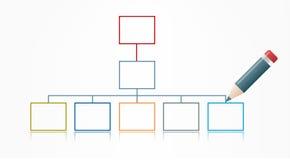 Diagramme de vecteur Photos libres de droits
