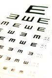 Diagramme de yeux Images libres de droits