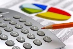 Diagramme des finances et du marché boursier Image stock