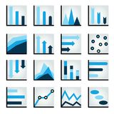 Diagramme, Diagramm, Diagramme Lizenzfreie Stockfotos