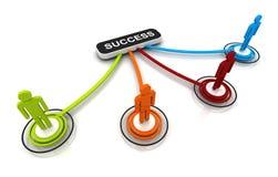 Diagramme humain de Connection Link Organization du modèle 3D  illustration libre de droits