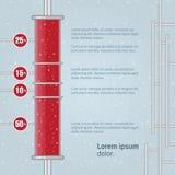 Diagramme. Illustration de vecteur pour votre présentation d'affaires. Images stock