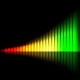 Diagramme lumineux abstrait Image libre de droits
