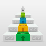 Diagramme template Photo libre de droits