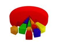 Diagrammen Royalty-vrije Stock Afbeeldingen